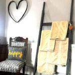 Main bedroom towel rail
