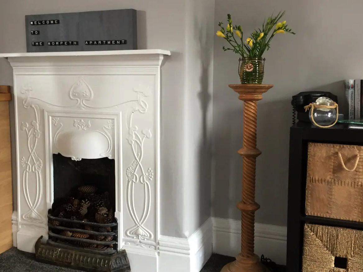 Original Fireplace from 1908